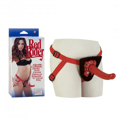 CalExotics Sophia's Red Rider Strap-On with Dong Review