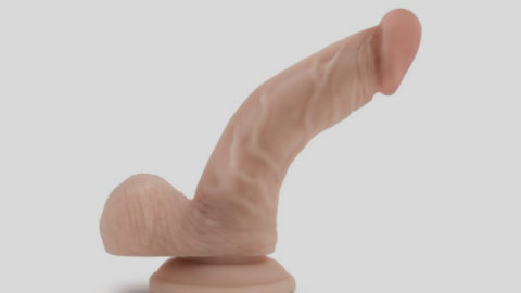 The Boy in Blue Dildo with Suction Cup