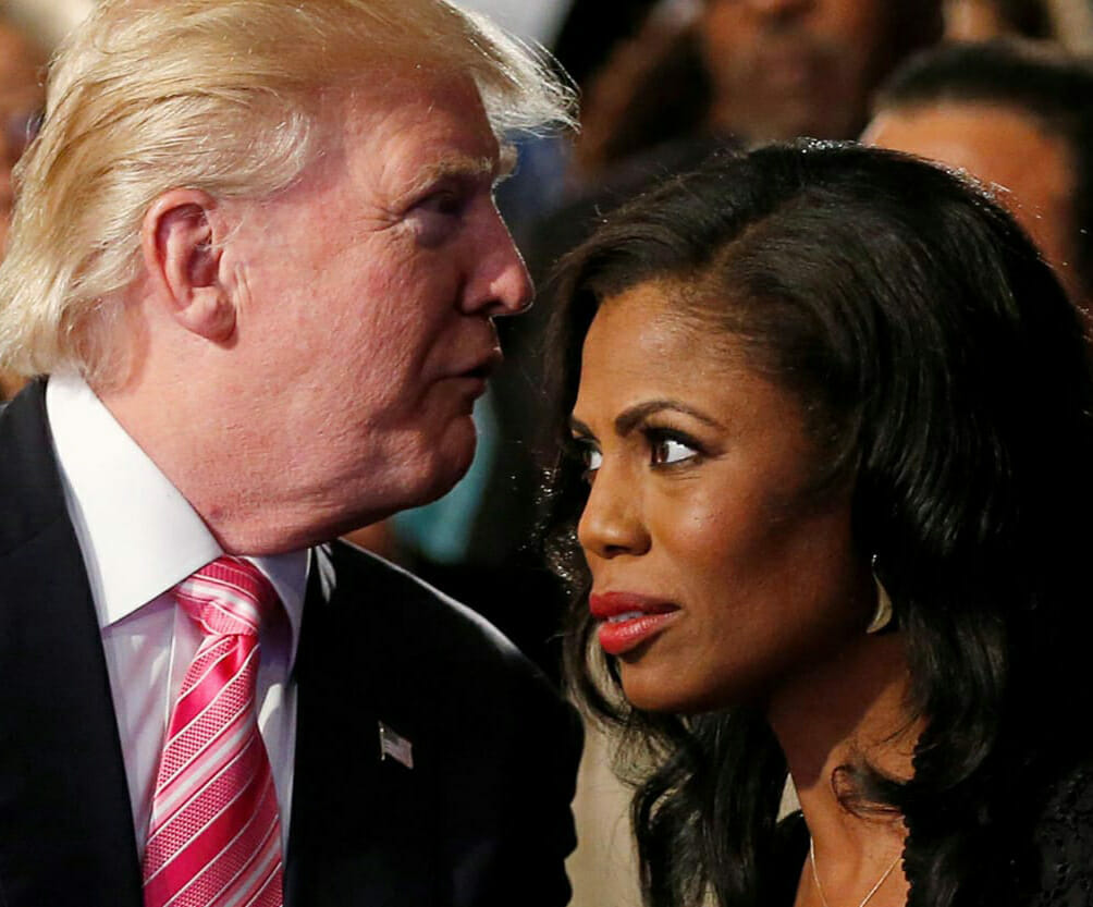 Donald and Omarosa